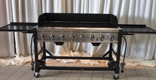 8 Burner Commercial Grade Gas Grill