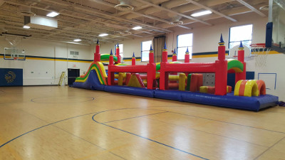Obstacle Course 60ft Photo